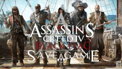 Read more about the article Assassin's Creed IV Black Flag (100% PC Save Game)